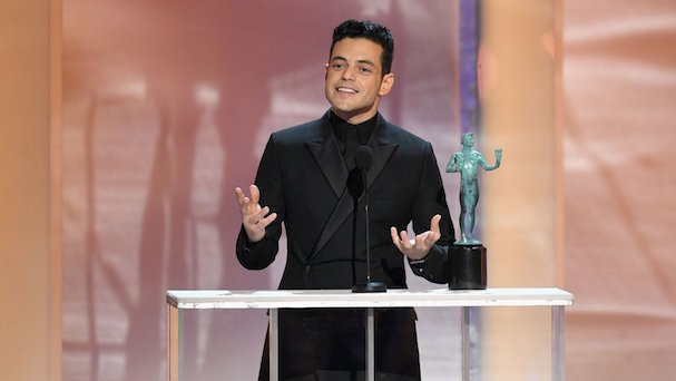 Rami MALEK sag awards 2019 607