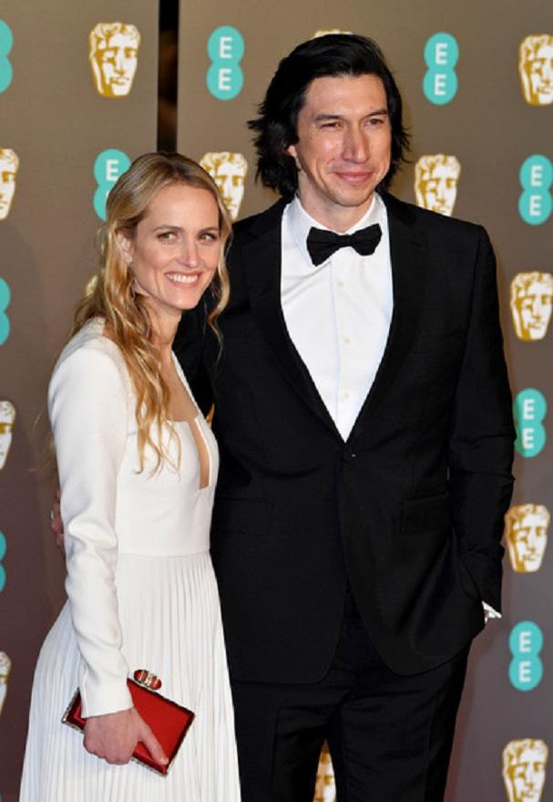 Adam Driver, Joanne Tucker BAFTA