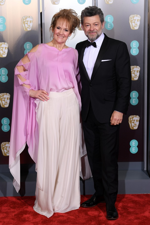 Andy Serkis, Lorraine Ashbourne BAFTA