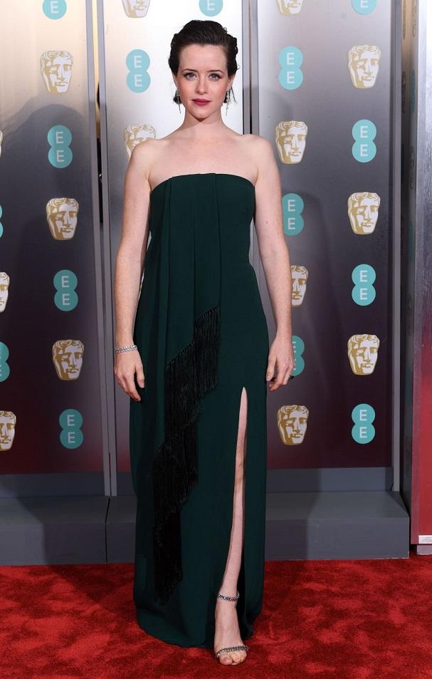 Claire Foy BAFTA