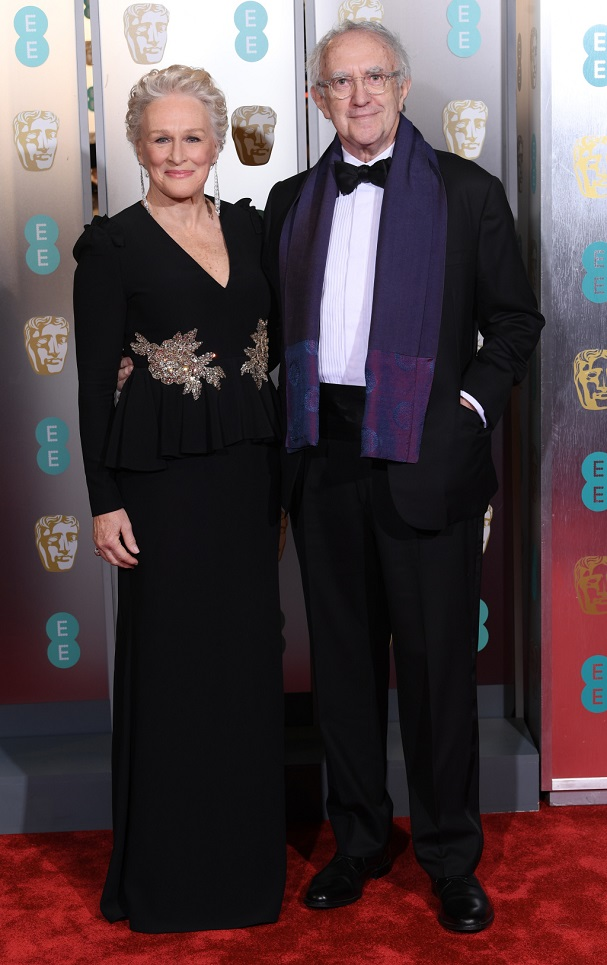 Glenn Close, Jonathan Pryce BAFTA