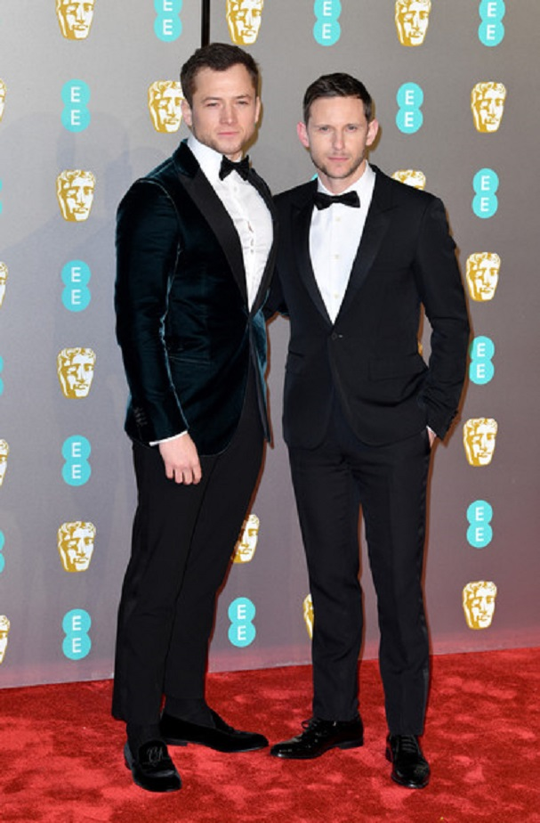 Jamie Bell, Taron Egerton BAFTA