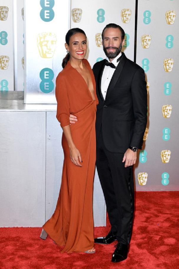 Joseph Fiennes, Maria Dolores Dieguez BAFTA