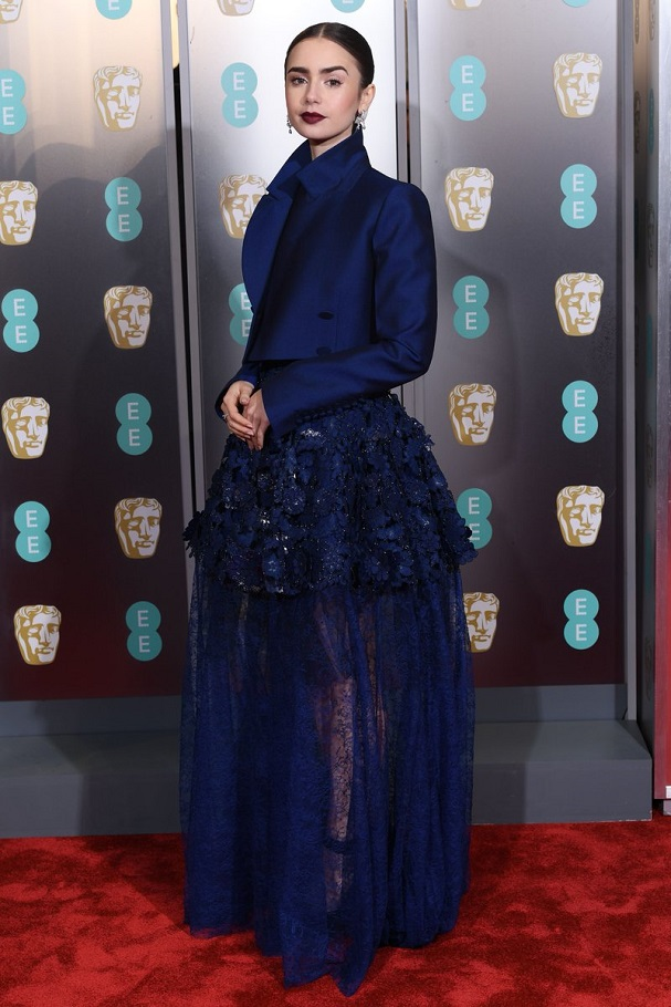 Lily Collins BAFTA