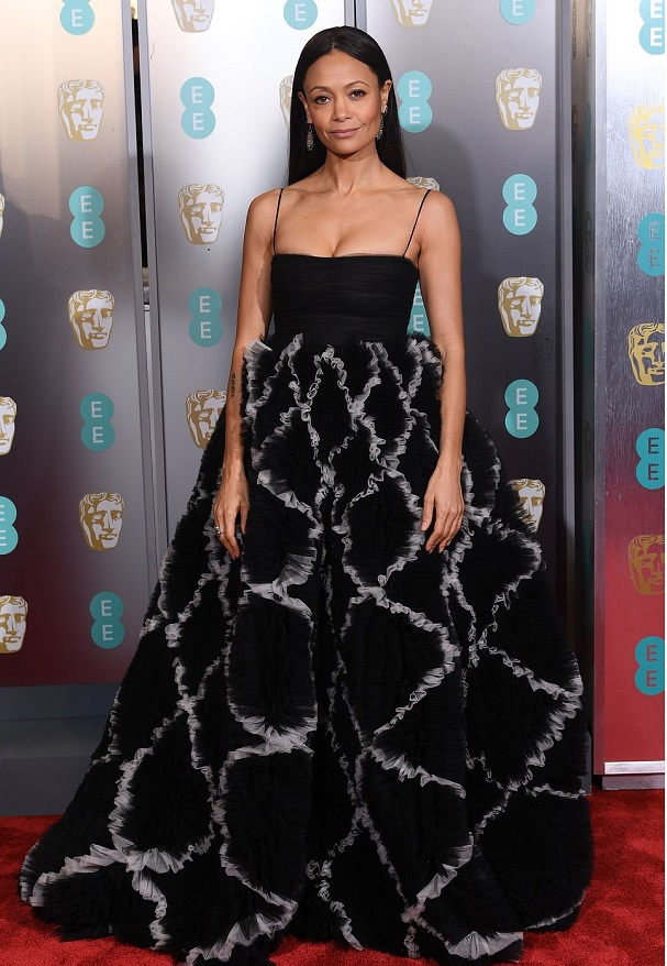 Thandi Newton BAFTA