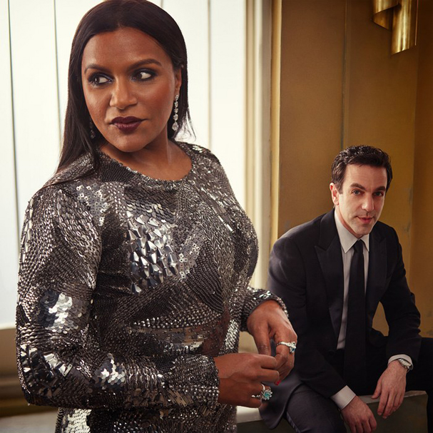 Mindy Kaling and BJ Novak vanity fair 607