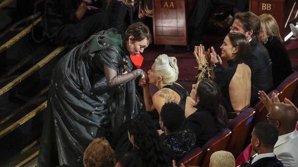 Oscars 2019 Backstage  607 1