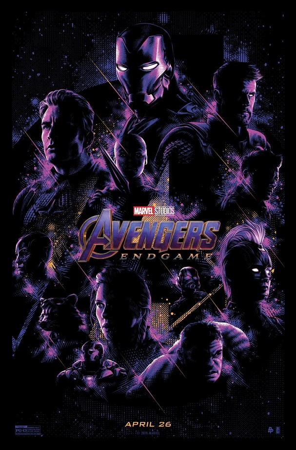 Avengers Endgame Poster 607