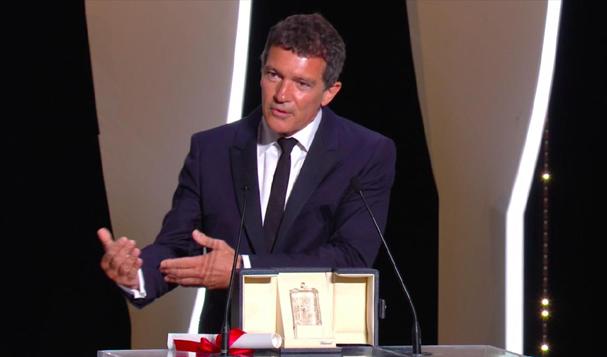 Antonio Banderas Cannes award 607
