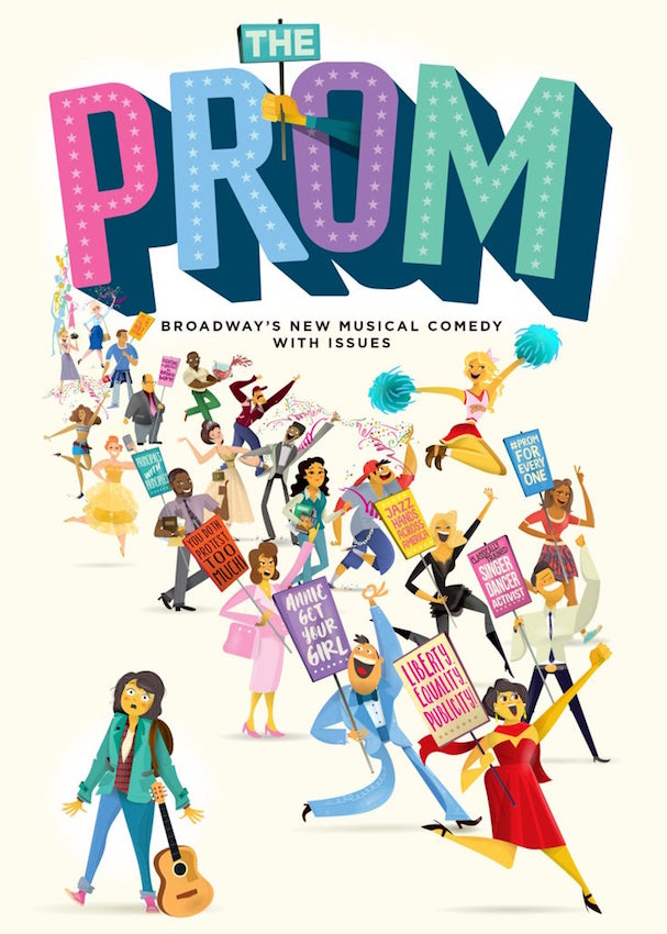 the prom broadway poster 607