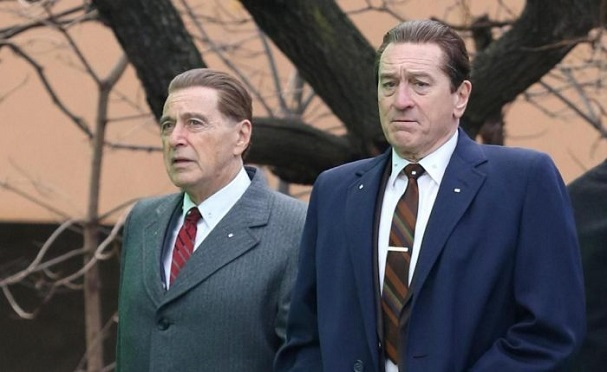 The Irishman filming