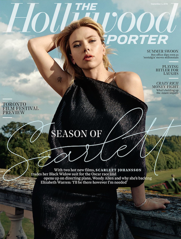 Scarlett Johanson Hollywood Reporter 607