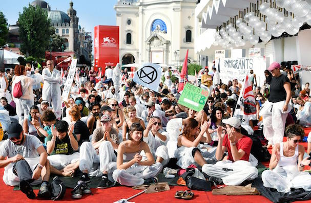 Climate activists Venice 607 2