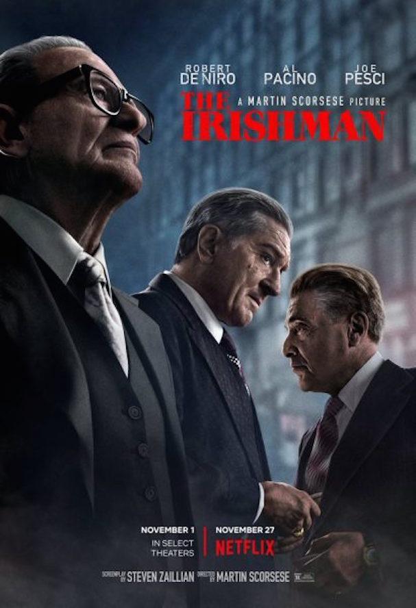 the irishman poster 607