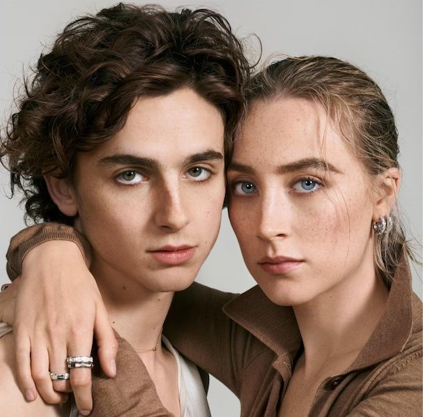 Saoirse Ronan and Timothee Chalamet 607
