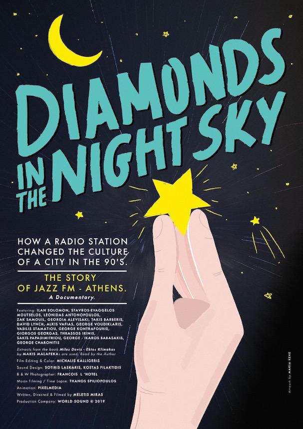 Diamonds in the Night Sky poster 607