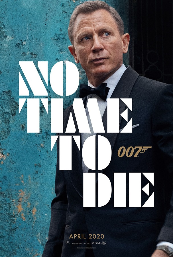no time to die poster 607