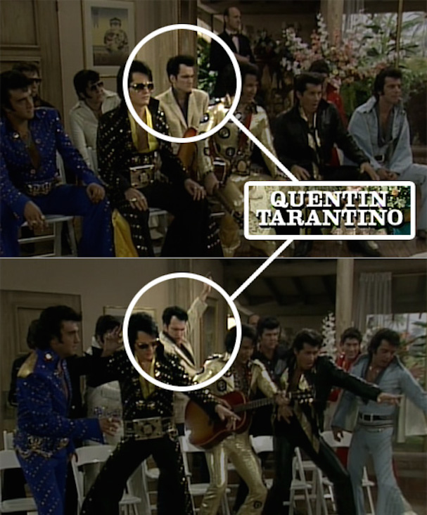 Tarantino Elvis Golden Girls 607