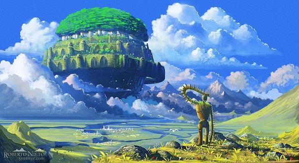 laputa castle in the sky 607