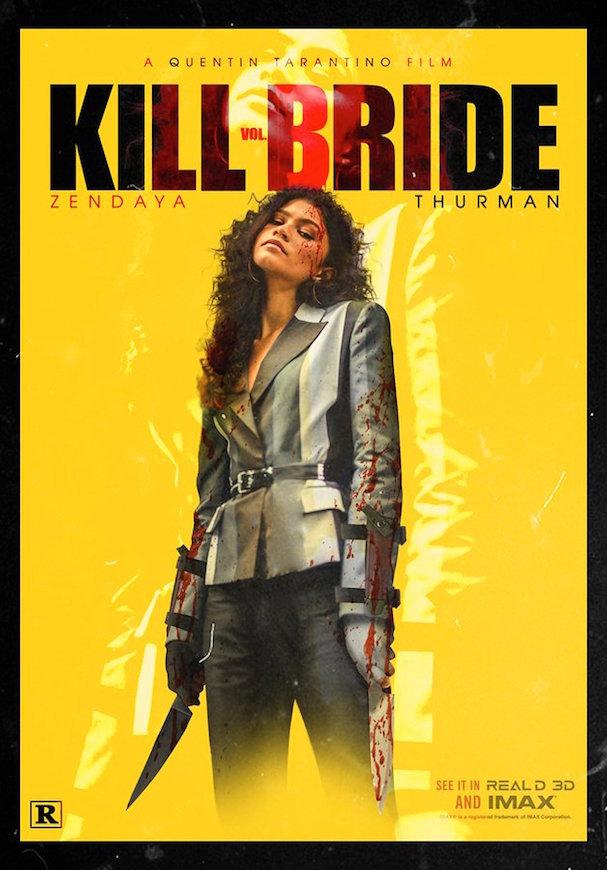 Kill Bride fake poster 607